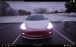 Tesla 3 winter