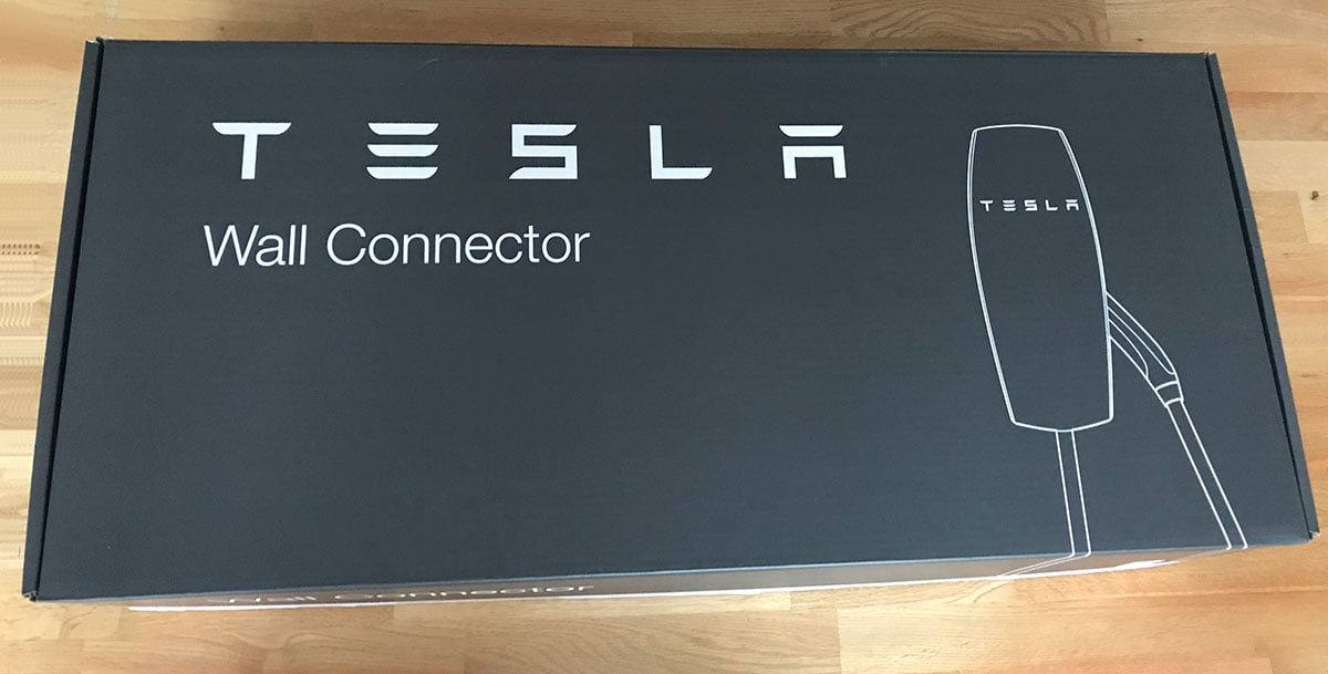 Tesla Wall Connector doos