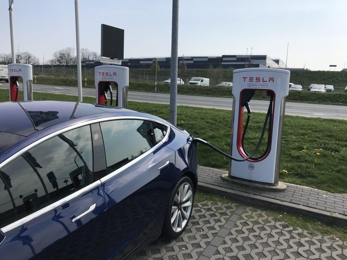 Supercharger Duitsland Rade