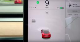 Tesla rij UI