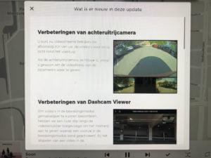 Release notes dashcam