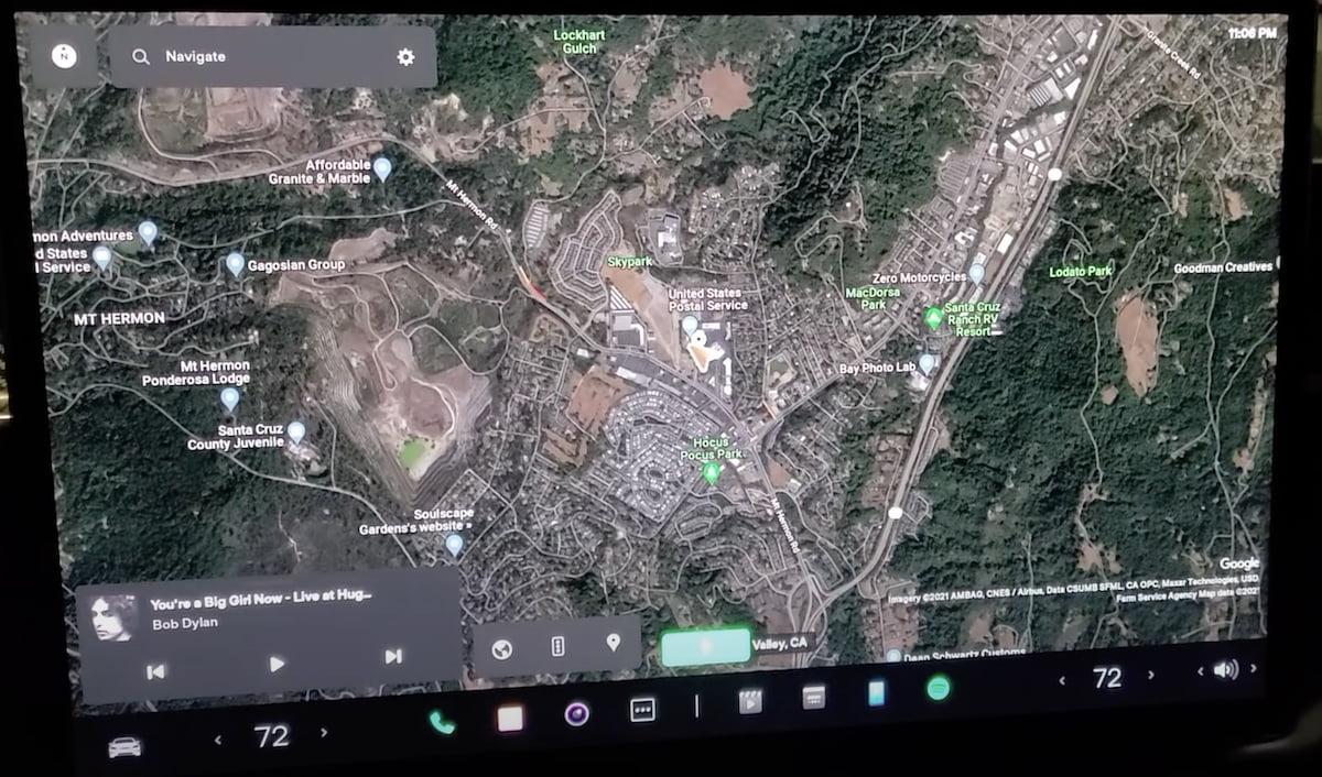 Tesla - Nieuwe interface